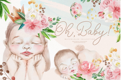 Oh, Baby! Watercolor Collection