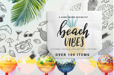 Beach Vibes - Summer design kit