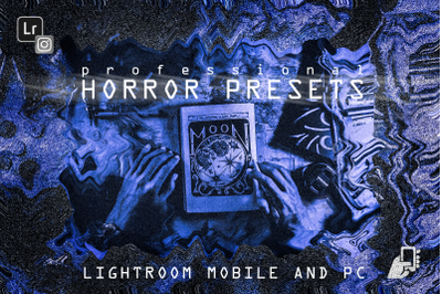 5 Horror presets halloween mobile pc dng