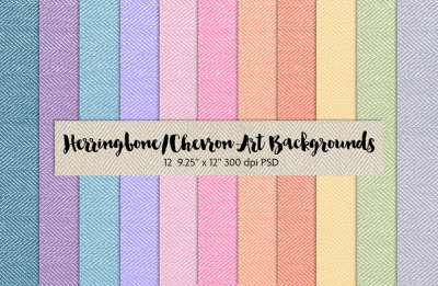 Herringbone-Chevron-Art Backgrounds
