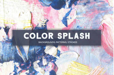 Color Splash Acrylic Collection