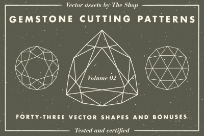 Gemstone cutting pattern volume 02