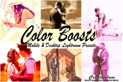 Color Boosts MobileLightroom Presets