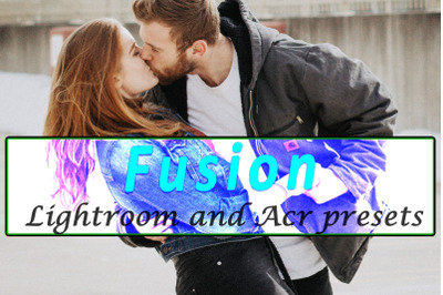 Fusion Lightroom and ACR Presets