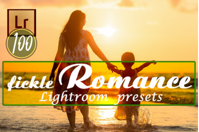 Fickle Romance Lightroom Presets