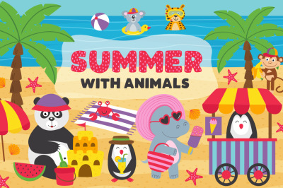 summer with animals
