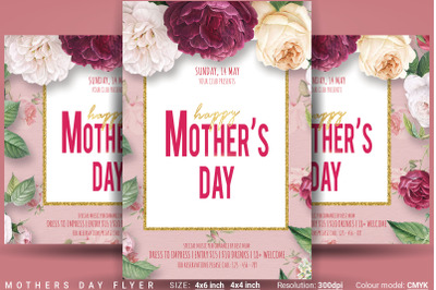 Mothers Day Flyer