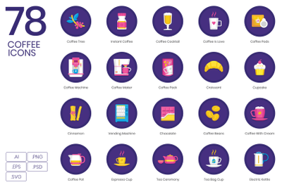 78 Coffee Icons