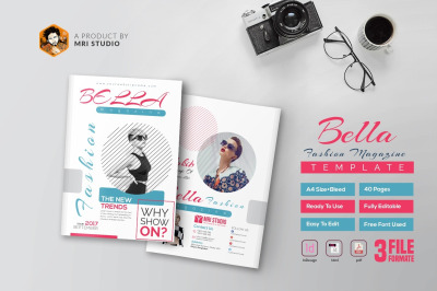 40 Page Bella Fashion Magazine