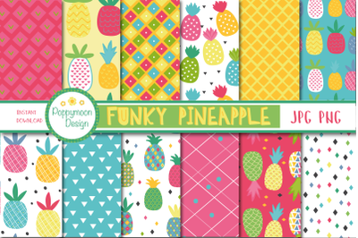 Funky Pineapple paper