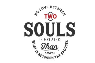 No love between two souls