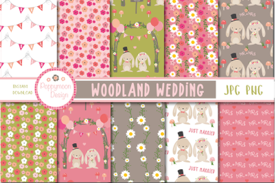 Woodland Wedding paper
