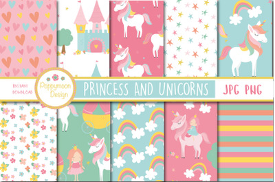 Princess and Unicorns paper