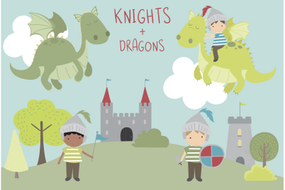Dragons and Knights