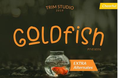 Goldfish - Playful Teacher Kids Font