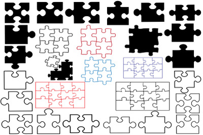 Puzzle Silhouettes
