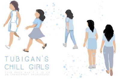 Tubigan's Chill Fashion Girls