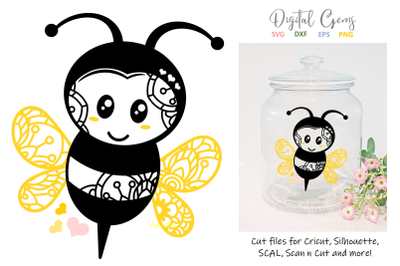 Bee SVG / DXF / EPS / PNG files