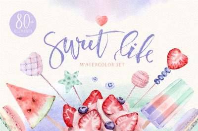 SWEET LIFE Watercolor set