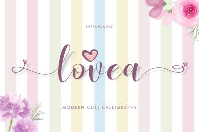 Lovea Script + Doodle