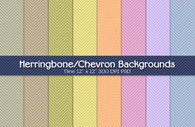 Herringbone-Chevron Backgrounds