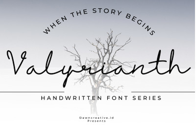 Valyrianth - Script Font