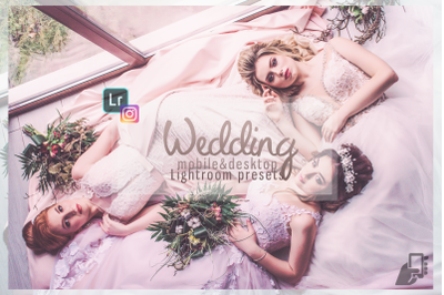 5 Wedding best presets professional bundle