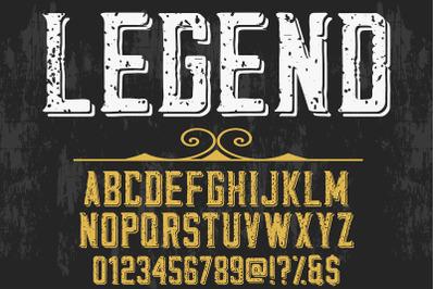 alphabet Script Typeface handcrafted handwritten vector label design