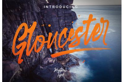 Gloucester Typeface