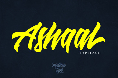 Ashaal Typeface
