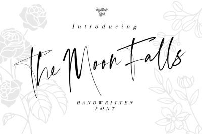 The Moon Falls