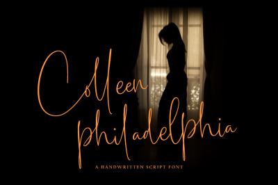 Colleen philadelphia / Handwritten