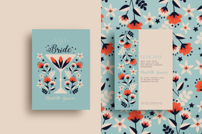 Night Out Bridal Shower Invitation