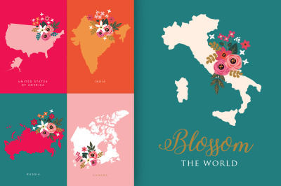 Blossom the World