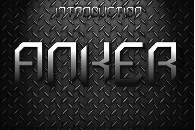 Anker Font
