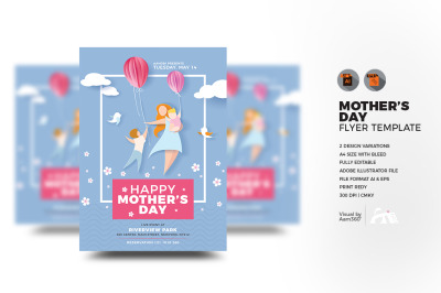Mother's Day Invitation Flyer