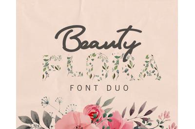 Flora Font Duo