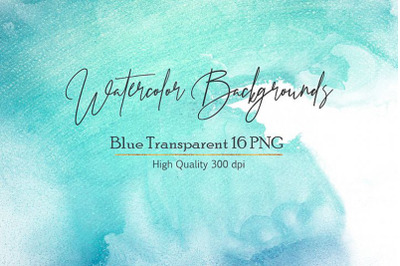 Watercolor PNG Backgrounds