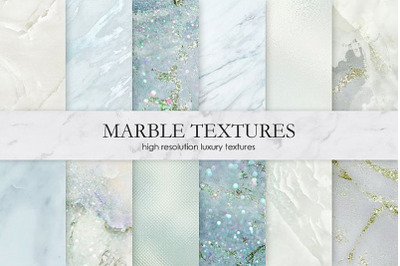 Marble and Watercolor Digital Paper