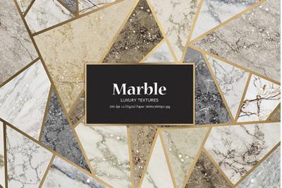 Marble Gold Digital Paper