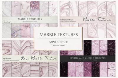 Rose Marble Digital Paper BUNDLE