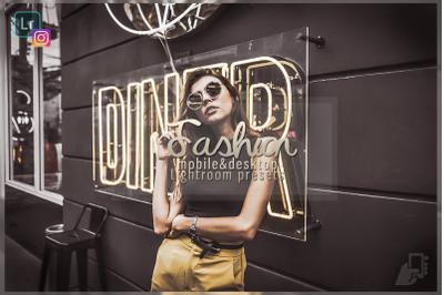 5 Fashion presets, Desktop Lightroom mobile