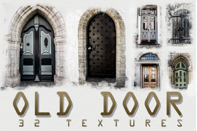 32 OLD and URBAN DOOR photo textures