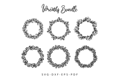 Floral Wreaths Bundle