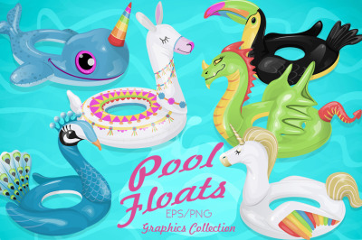 Pool Floats Collection
