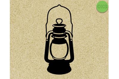 old lantern, vintage, vector, svg, dxf, eps