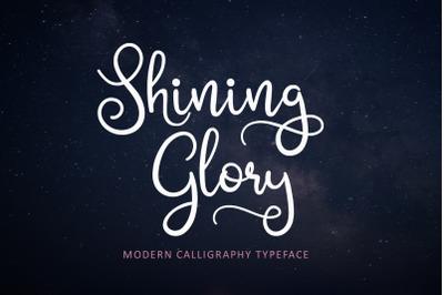 Shining Glory Script Font