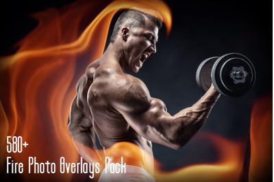 580+ Fire Photo Overlays Pack