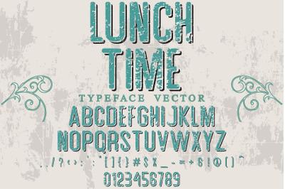 alphabet Script Typeface handcrafted handwritten vector label