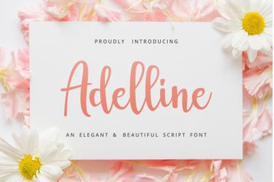 Adelline Beautiful Script